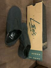 Leo's Dancewear Ballet Dance Shoes Sz Kid 5 Black Beginner Shoes Used Few Times