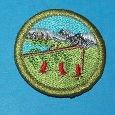 WILDERNESS SURVIVAL  TYPE L  MERIT BADGE  -   BOY SCOUTS - 8312