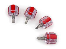 Tekton 4 Piece Mini, Stubby, Professional Screwdriver Set-2 Ph, 2 Sl (# 28071)