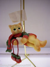 Calico Kittens Cocoa Dated 2000 Ornament 720771~ Nib * Free First Class Ship
