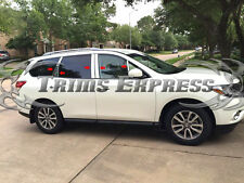 2014-2017 Subaru Forester 10Pc Chrome Pillar Post Stainless Steel Trim