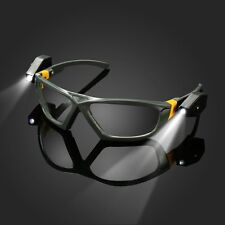 Safety Security Eyes Protection Goggles Transparent Laser infrared LED Glasses