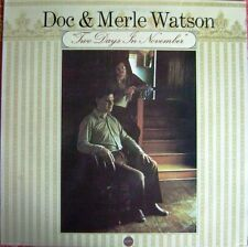 Doc Et Merle Watson - Two Days In November