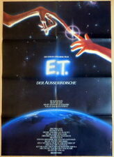 Steven Spielberg E.T. - THE EXTRA TERRESTRIAL original 1 sheet movie poster 1982