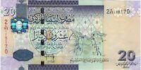 Libya, ND (2009) 20 Dinars P-74  ((Unc))