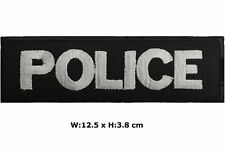 Police Patch Embroidered Iron/Sew-On Badge Policeman Officer Fancy Dress/logo
