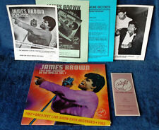 JAMES BROWN - LIVE AND LOWDOWN AT APOLLO - SOLID SMOKE LP + (2) PIX, (2) INSERTS