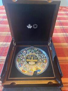 2017 Fine Silver Canada Puzzle Coin 14 Piece 502 Grams 99.99 JR84
