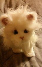 "FurReal Friends 8"" LULU White Interactive Animated Walking Talking Kitty Cat"