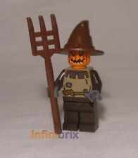 Lego Custom Jack Linterna Espantapájaros Halloween Minifigura Creepy Nuevo cus042