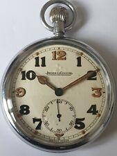 Ww2 Jaegar Le Coultre Pocket Watch