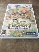 Rune Factory: Tides of Destiny Nintendo Wii Complete - Fast Free Shipping