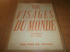 visages du monde n°66, les vins de France (1)