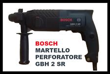TRAPANO MARTELLO PERFORATORE BOSCH GBH 2 SR PROFESSIONAL +VALIGETTA 620W