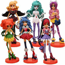 MONSTER HIGH ACTION FIGURINES KID COLLECTION TOY CAKE TOPPER DECOR FIGURE SET