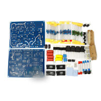 Dual Channel Diy Kits for Power Amplifier Board QUAD405 100W + 100W Amp Parts
