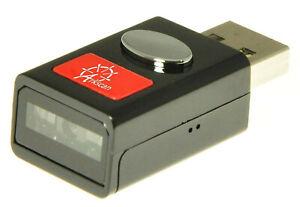 Arkscan ES201 Super Mini Pocket Size Barcode Scanner for USB Device Window Mac