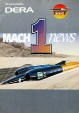 Richard Noble / Andy Green Thrust SSC Land Speed Record 4th Issue of Mach 1 News