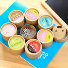 20pcs Mini Metal Bookmarks Office School Book Note Clip with Cute Case Container