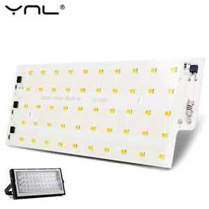 1pc 50W Warm White 2835 Integrated Smart IC 220V LED Chip Spotlight Beads COB