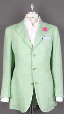 LUXURY | KITON 100% Linen | Summer Blazer Jacket | Light Green US41 EU51 $ 4800