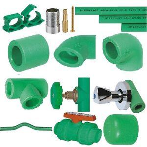 Fusiotherm Aquatherm, Aqua-Plus 20 mm Fittings PPR Absatzstück, Winkelstück