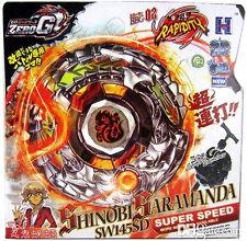 Ninja Salamander / Shinobi Saramanda Zero-G Beyblade STARTER SET w/ Launcher NIP