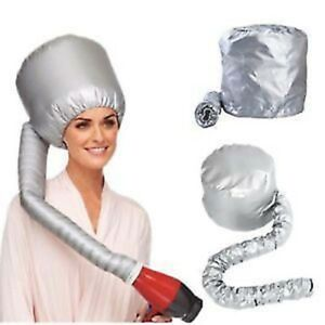 Portable Soft Hair Drying Salon Cap Bonnet Hood Hat Blow Dryer Attachment UK