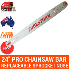 "24/25"" TOOLSTORM Pro Chainsaw Bar only for Stihl 3/8 063 84DL 066 MS660 MS390"