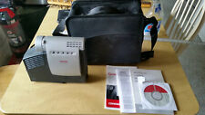 Compaq IPAQ MP1410 Microportable DLP Projector w/case manuals disk and 50' cable