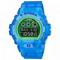 NEW Casio G-Shock Digital Watch Translucent Blue Resin Men Watch DW-6900LS-2