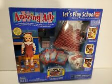 Amazing Ally Let's Play School Play Set Playmates 2000 W/ Adventure Ware Pack