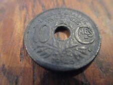 10 centimes lindauer zinc petit module 1945