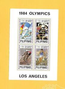 """PHILIPPINEN 1984 - postfrisch**MNH - MiNr. Block 24 """"Olympische Sommerspiele """""""