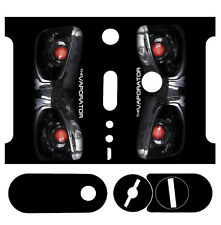 Skin Wrap for Kanger Nebox 60W TC MOD Decal Vape Sticker - VAPORATOR BLACK