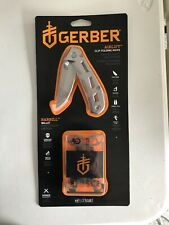 NEW Gerber Airlift Clip Folding Knife & Barbill Multi-Tool Wallet