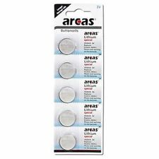 5 X arcas CR2025 Lithium Batterie, Knopfzelle,Haushalt, Kleingeräte EXP2024