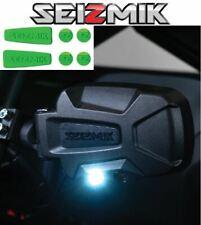 Green Seizmik Pursuit Night Side Mirrors- 2007-2020 John Deere Gator 620i / 625i