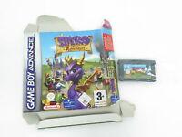 Nintendo Gameboy Advance PAL Spiel Spyro Adventure mit Box Anleitung