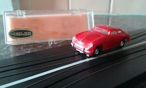 MARUSAN PORSCHE 1600 HO SLOT CAR - Bright RED Colour - Excellent Condition