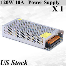 120W 10A DC 12V Power Supply Universal Regulate Driver Adapter For LED Strip