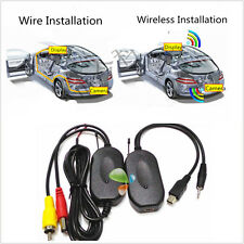 2.4GHZ Wireless RCA Video Transmitter & Receiver for Car Auto Reversing Camera