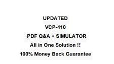VMware Certified Professional VCP-410 QA PDF&Simulator