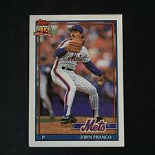 1991 Topps JOHN FRANCO #510 New York Mets