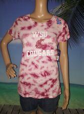 Washington State Cougars Pink T-Shirt - Crimson - NCAA Women's XL JR. Unique NWT