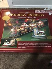 The Holiday Express Animated Train Set #385 New Bright
