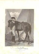 Anthony Wayne 1862 Steel Engraving Print Major General Revolutionary War