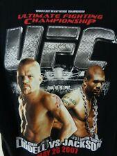 ufc shirt chuck liddell vs. rampage jackson may 26 2007 large
