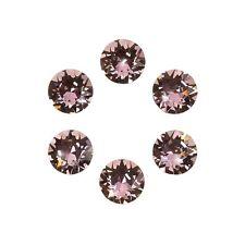 SWAROVSKI 1088 castoni Cristalli Rosa Antico FOIL BACK ss29 6mm PK6 (E98 / 3)