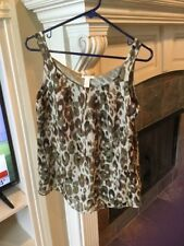 98ae2322cc3fe9 J.CREW Silk Animal Print Tops for Women for sale | eBay